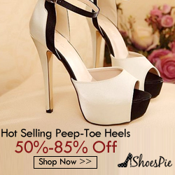 Shoespie Peep Toe High Heels