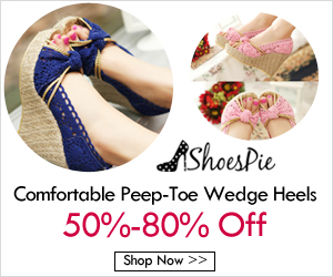 Shoespie Ladies Wedge Heel Shoes 2017