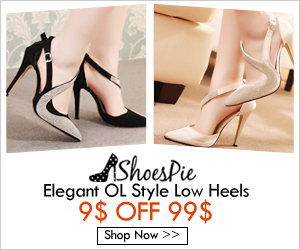 Shoespie Fashion Low Heels Show