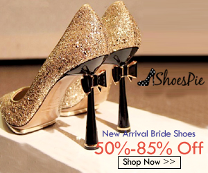 Shoespie Champagne Wedding Shoes 2017